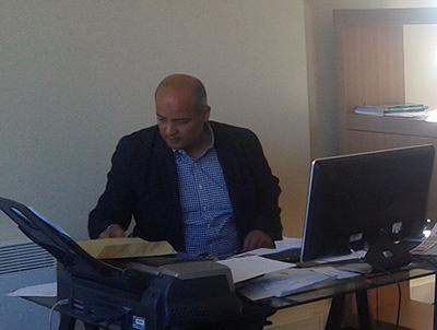 Mourad Ben Yedder au bureau